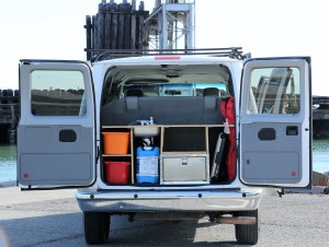 Cool Ford Budget campervan for Rent San Francisco