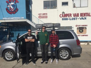 Lost Campers Los Angeles, CA Campervan Rental Locations