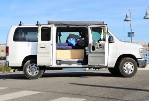 Budget Ford campervan rentals San Francisco Campervan rentals