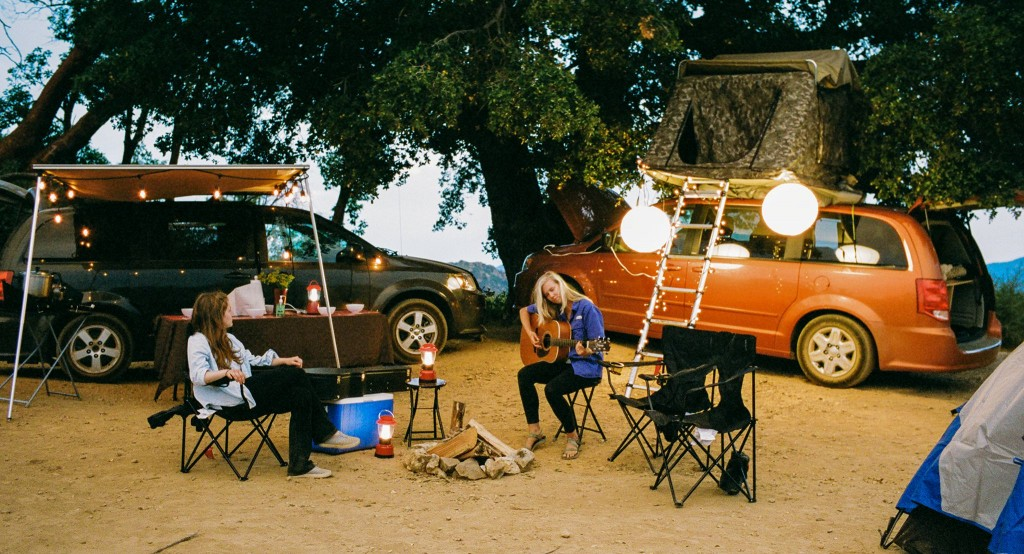 Campervan vacation planning and fun in California this summer