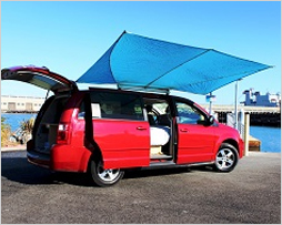 Cool Dodge Caravan campervans for rent in Los angeles, San Francisco & Salt Lake City