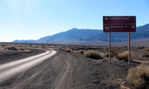 Death Valley, Ubehehe Crater Road