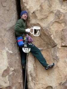 climbers coffee, Joshua Tree