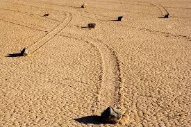 Death Valley Sailing stones