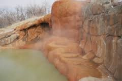 Utah Hot Springs in Winter