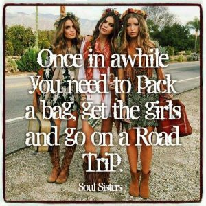 Girls road trip ideas