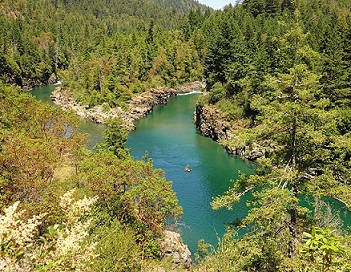 northern california camping in Six River National Forest