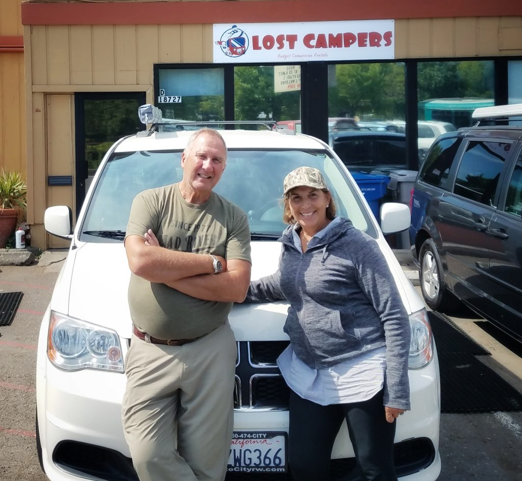 Seattle Campervan Rental Testimonial - Lost Campers Seattle Campervan Budget Rental Testimonials