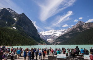 Avoid this Banff, CN mess: Offseason National Parks Car Camping is Better
